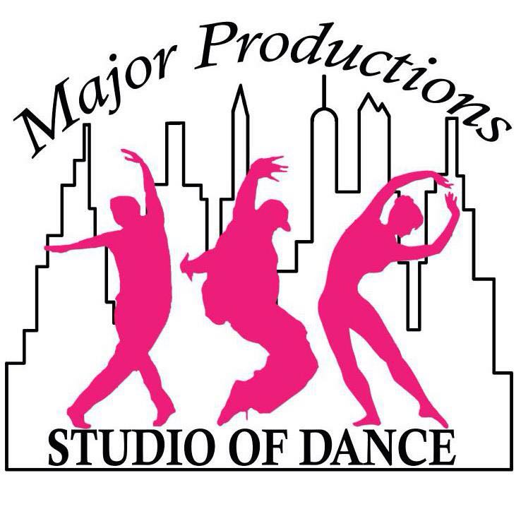 Major Productions Studio of Dance Logo